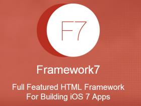 Framework 7. Мобильные приложения в нативном стиле