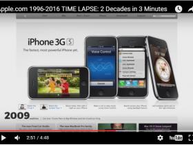 Как менялся сайт компании Apple
