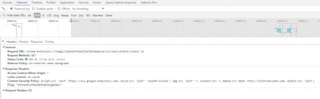 Смотрим ETag через инструменты разработчика