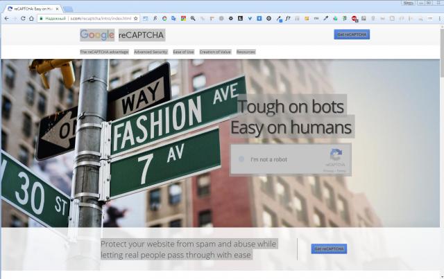 reCAPTCHA 2. Инновационная капча от Google