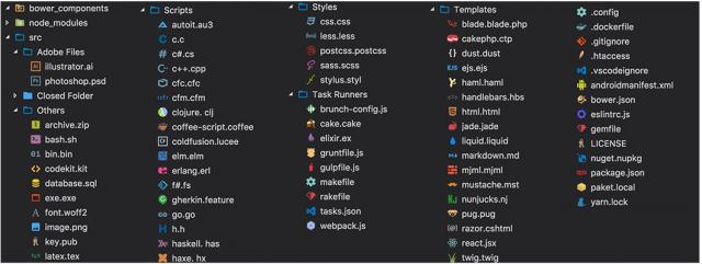 Иконки для файлов